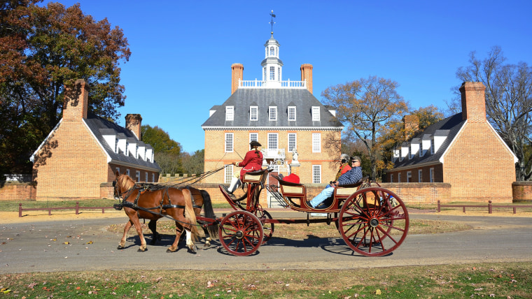 The case involves a boy who was on a school field trip to Colonial Williamsburg in Virginia, which included dinner at a restaurant on the grounds of the historic area.