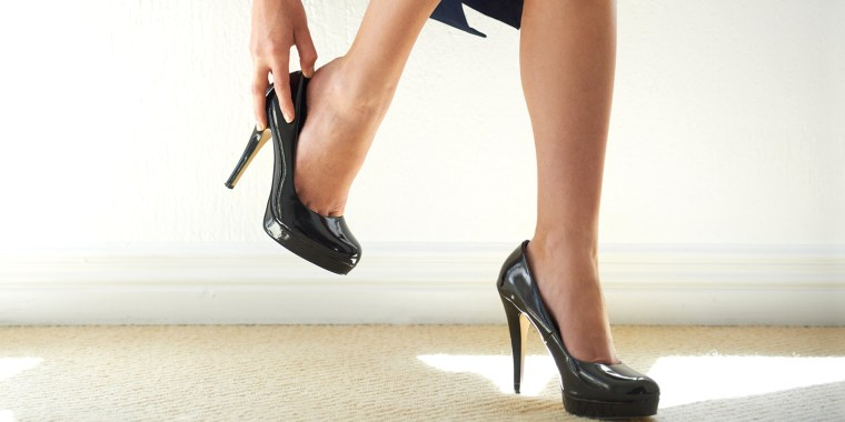 Japan heels at work