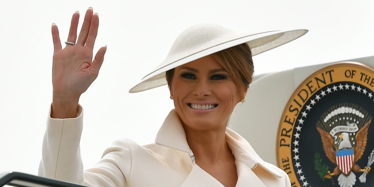 Melania Trump BRITAIN fashion