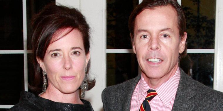 Kate Spade and husband Andy Spade