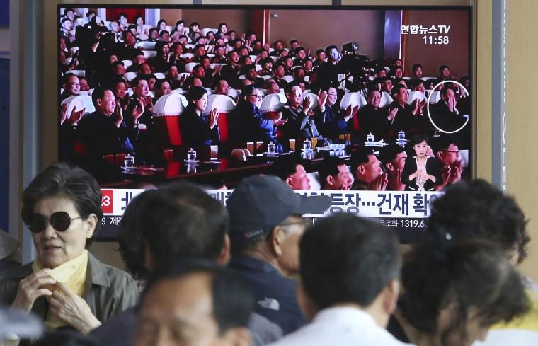 Image: Kim Jong Un, Kim Yong Chol