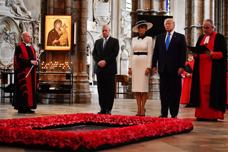 Image: U.S. President Trump's State Visit To UK - Day One
