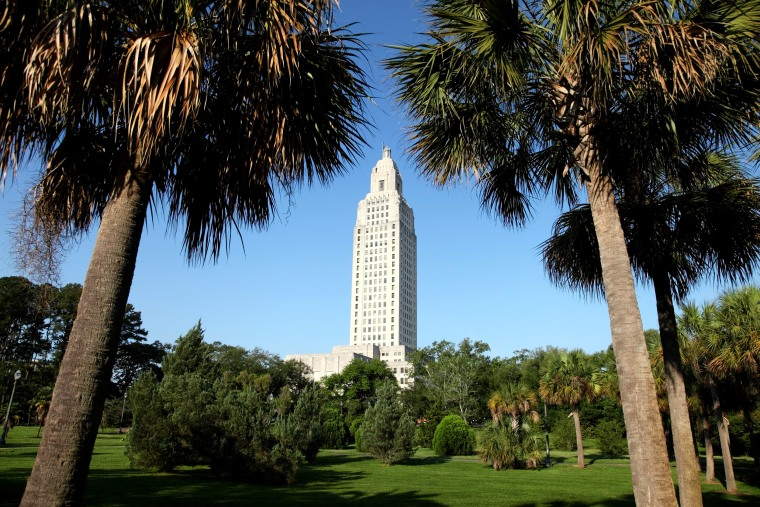 Image:  The Louisiana State Capitol in Baton Rouge.