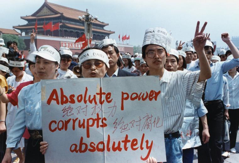 Image: 1989 Tiananmen Square