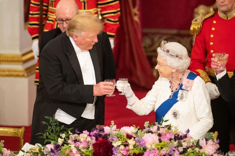 Image: *** BESTPIX *** U.S. President Trump's State Visit To UK - Day One