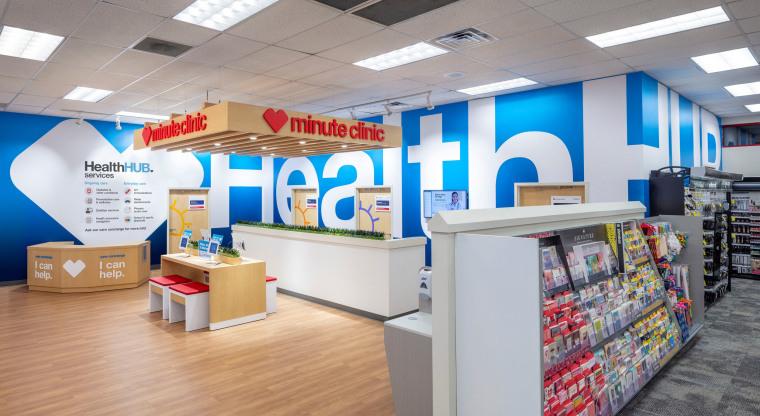 Image: A CVS HealthHUB location in Spring Texas