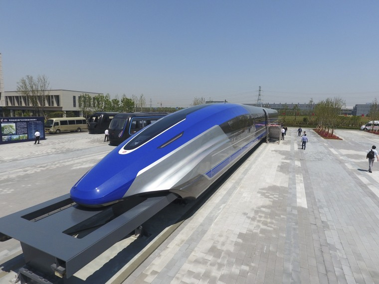 Image: maglev train