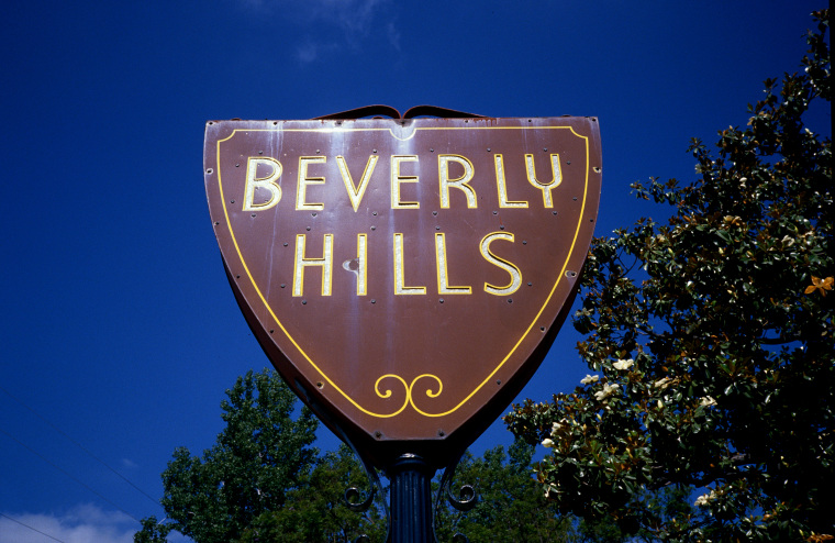 """Beverly Hills"" City Sign"