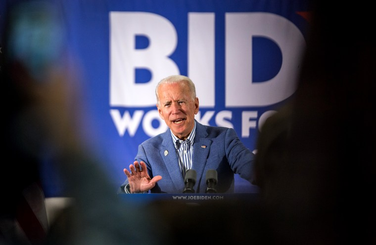 Image: Former Vice President Joe Biden holds a presidential campaign event in Concord, New Hampshire, on June 4, 2019.