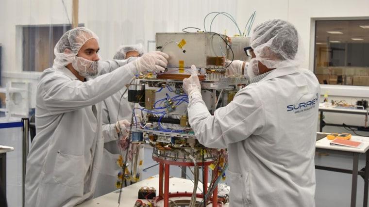 Image: Nasa's Deep Space Atomic Clock