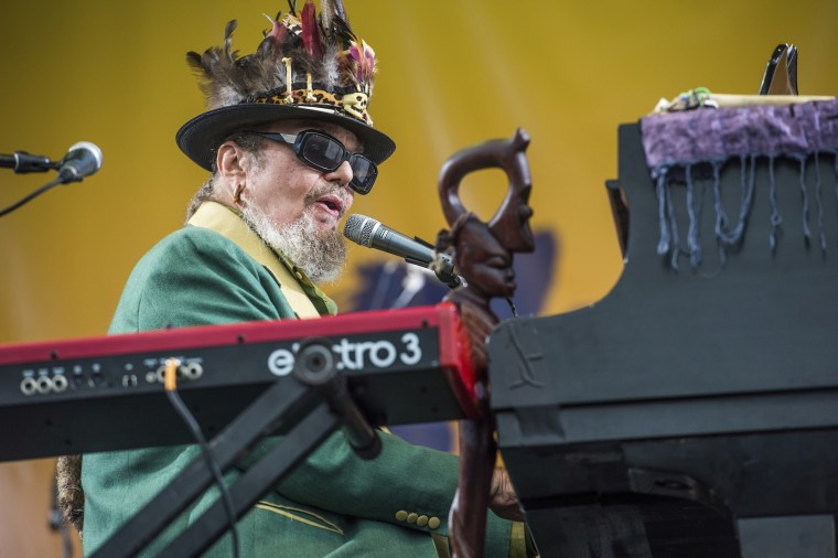 Dr  John, Hall of Fame master of New Orleans voodoo rock