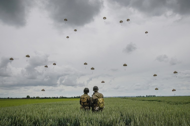 Image: ***BESTPIX*** Commemorations Begin For D-Day 75th Anniversary In Normandy