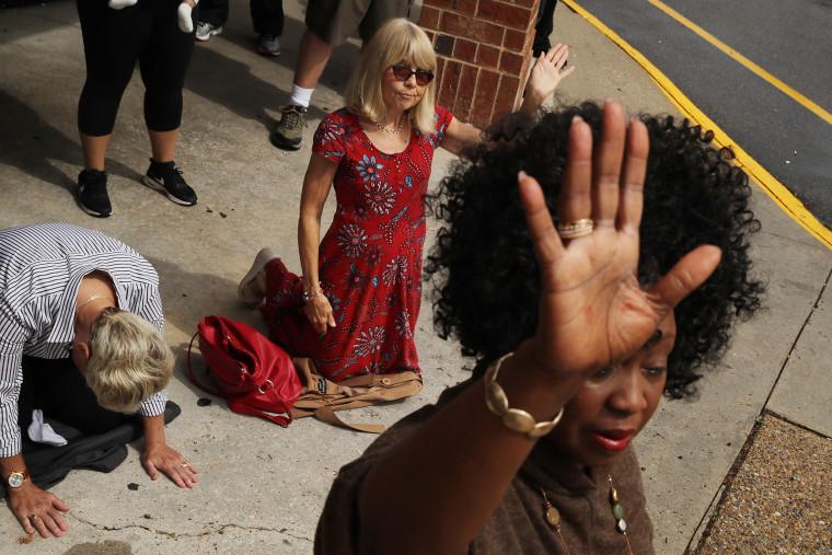 Image: ***BESTPIX*** 12 Dead In Mass Shooting At Virginia Beach Municipal Center