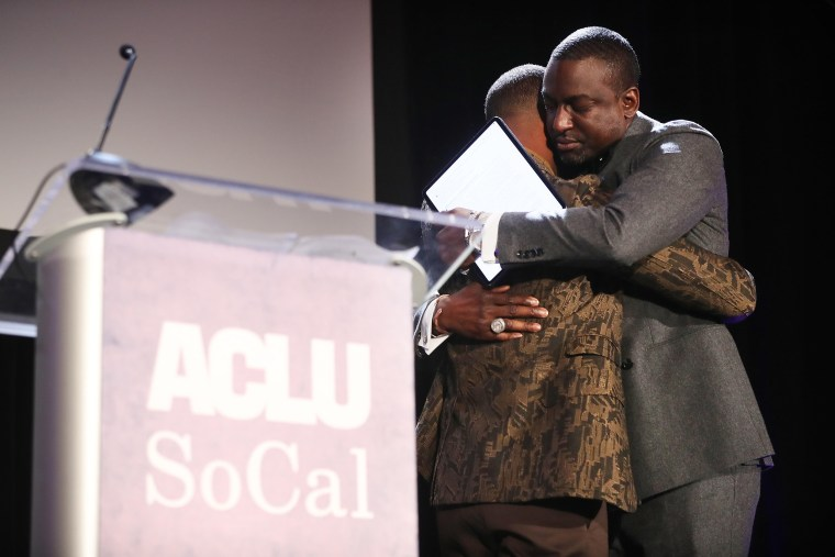 Image: Michael B. Jordan, ACLU Honors Central Park Five At 25th Annual Luncheon