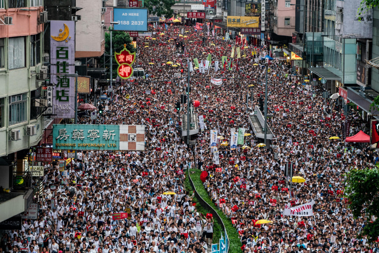 Image: Hong Kongers Protest Over China Extradition Law