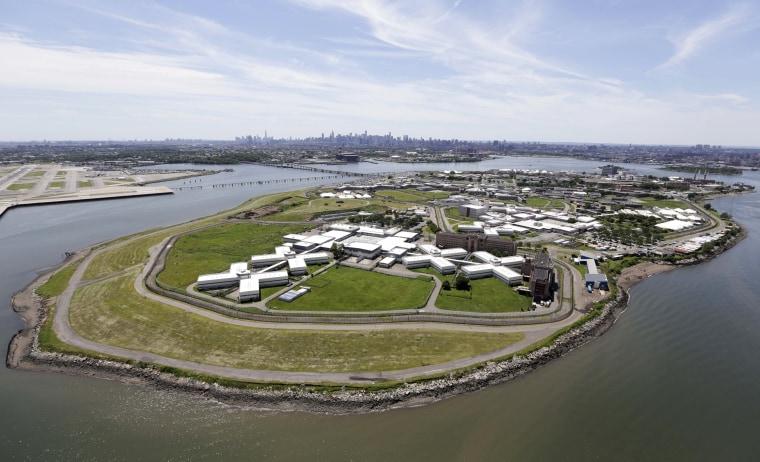 Image: Riker's Island jail