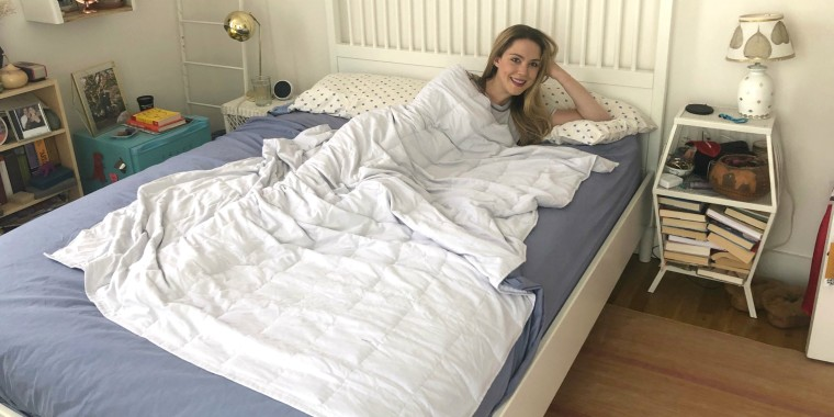 Weighted Blanket Ode