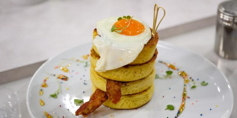 Darnell Ferguson's Super Scriddle Pancakes + Triple-Strawberry Waffles