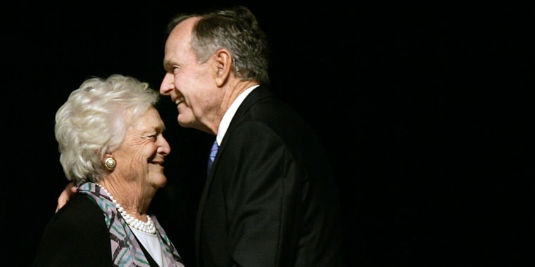 This cute video of George H.W. Bush and Barbara Bush will warm your heart