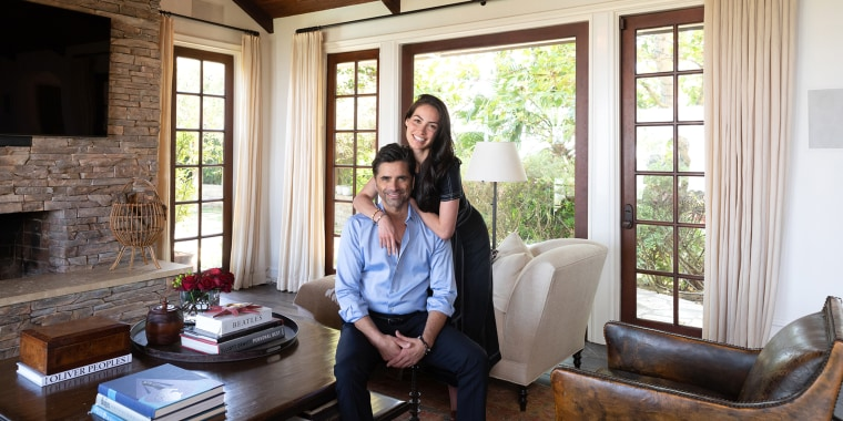 John Stamos gives a tour of his Beverly Hills home