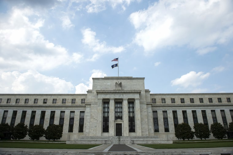 Image: The United States Federal Reserve is seen in Washington on June 14, 2017.