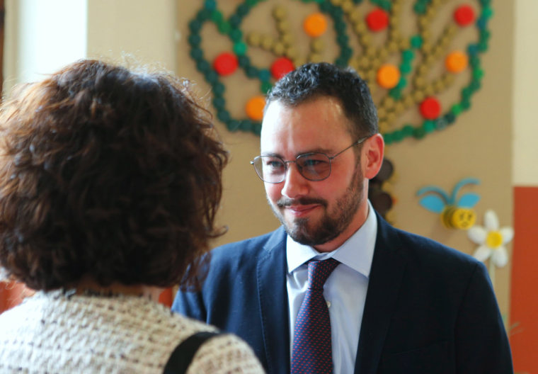 Image: Transgender Gianmarco Negri is elected Mayor of Tromello, Northern Italy