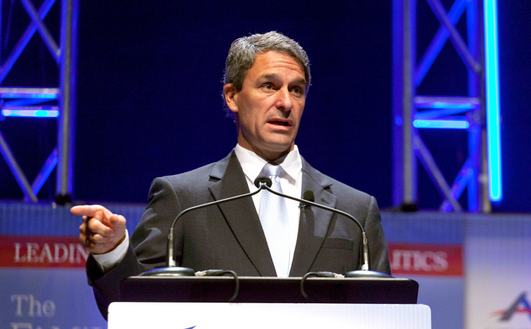 Image: FILE PHOTO: Former Virginia Attorney General Cuccinelli speaks at the Family Leadership Summit in Ames