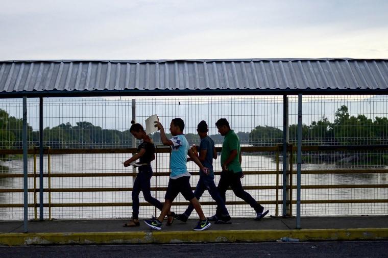 Image: MEXICO-GUATEMALA-US-BORDER-MIGRATION