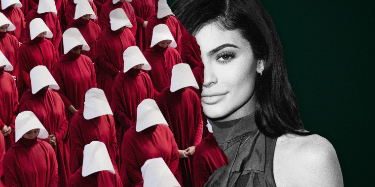 "Image: Kylie Jenner is facing backlash for a ""Handmaids Tale""-themed party."