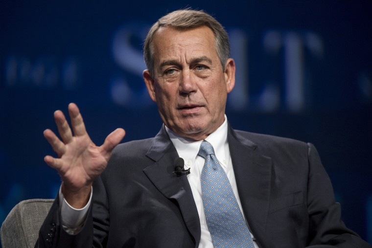 Image: John Boehner, Key Speakers At The 2016 SALT Conference