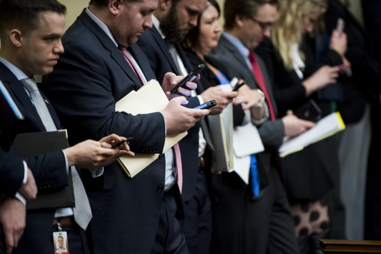 Image: House staffers