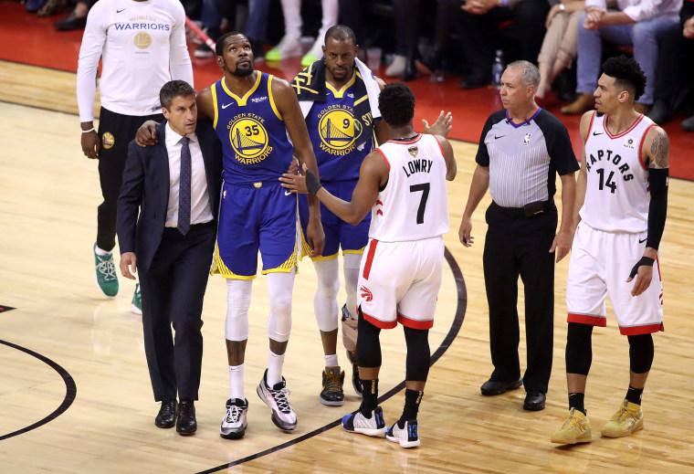 Image: 2019 NBA Finals - Game Five