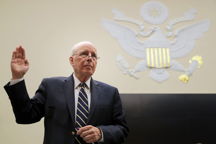 Image: Former White House Counsel For The Nixon Administration John Dean Testifies Before The House Judiciary Committee