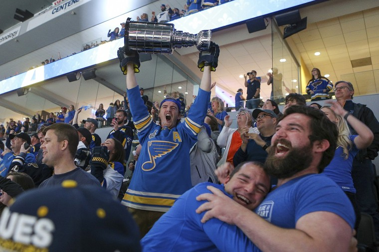 Image: Stanley Cup, Fan reaction