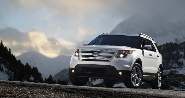 Image: The 2011 Ford Explorer.