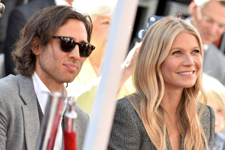 Image: Brad Falchuk and Gwyneth Paltrow in Hollywood on Dec. 4, 2018.