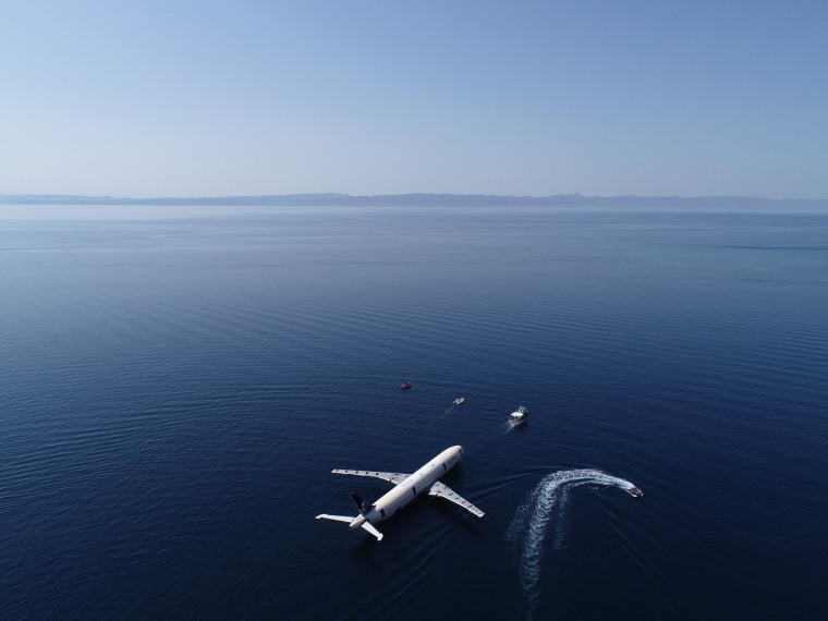 Image: Turning an Airbus A330 into artificial reef