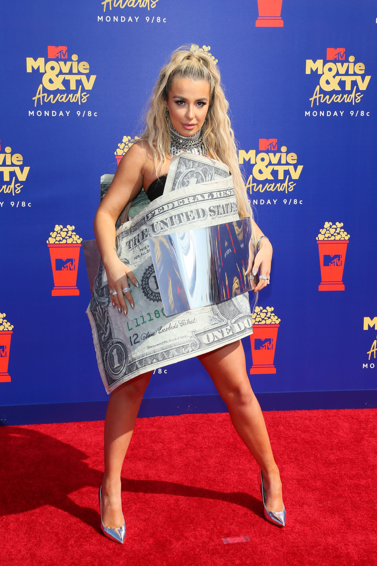 Image: US-ENTERTAINMENT-MTV-MOVIE-TV-AWARDS-ARRIVALS