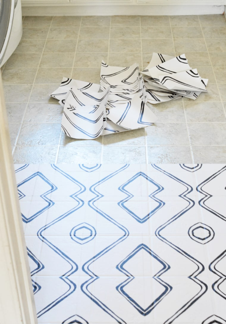 How To Use Peel And Stick Tiles On Floors Linoleum Or Otherwise