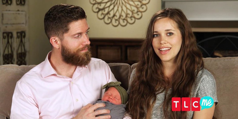 Jessa Duggar gives birth to 3rd child