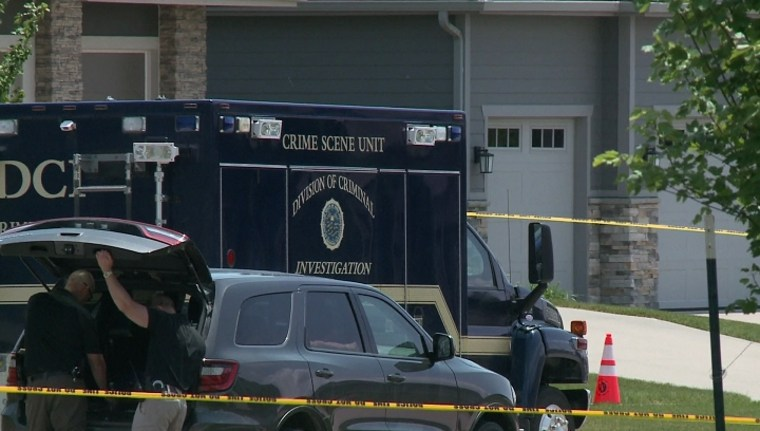 IMAGE: West Des Moines, Iowa, shooting scene