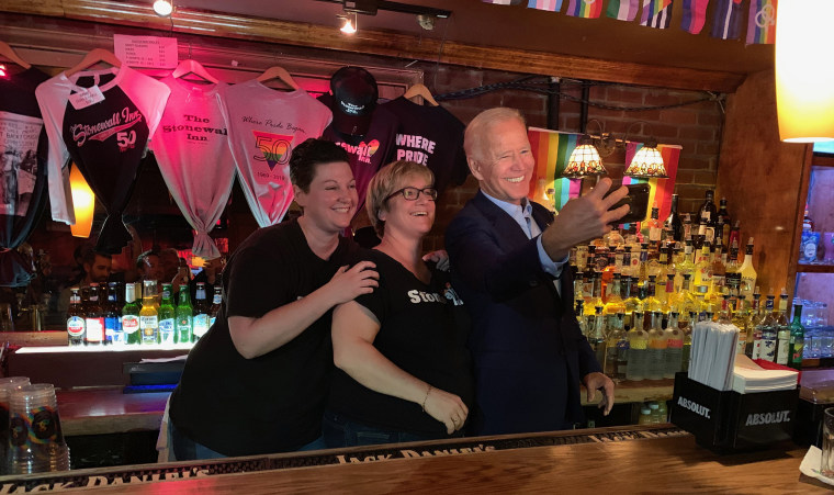Joe Biden visits historic Stonewall Inn gay bar