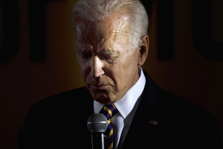 Image: Former Vice President Joe Biden speaks at a campaign event in Washington on June 17, 2019.