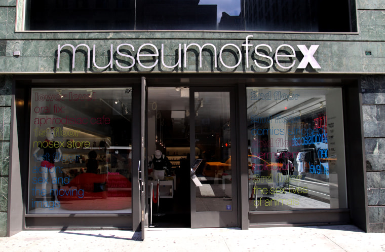 Image: The Museum of Sex in New York in 2011.