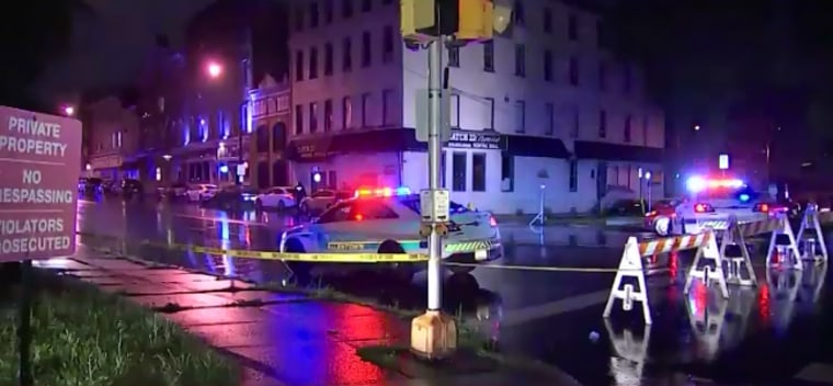 A shooting outside a downtown Allentown, Pennsylvania, nightclub left multiple people hurt early Thursday.