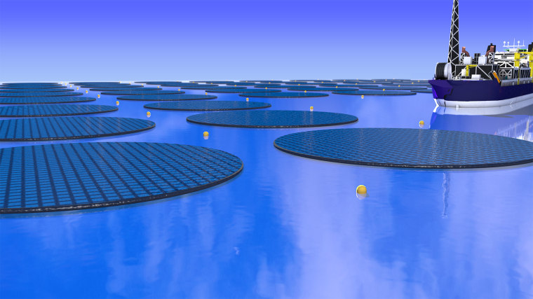 How floating solar farms could make fuel and help solve the climate crisis