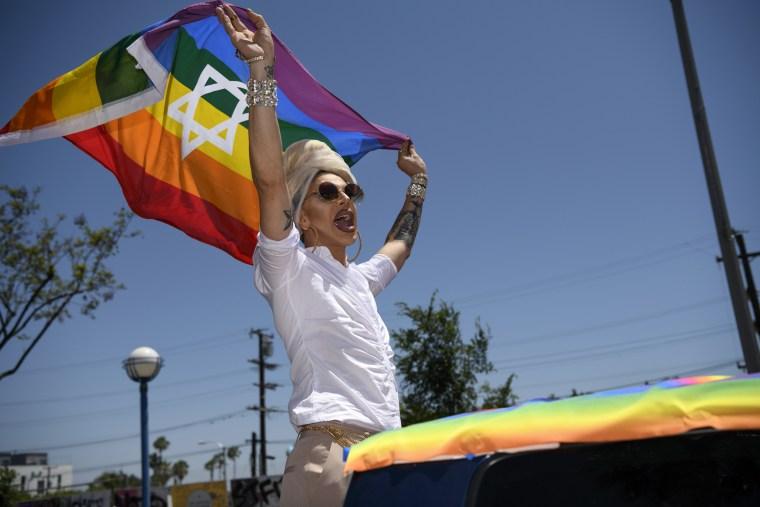 Gay Pride Parade In Hollywood