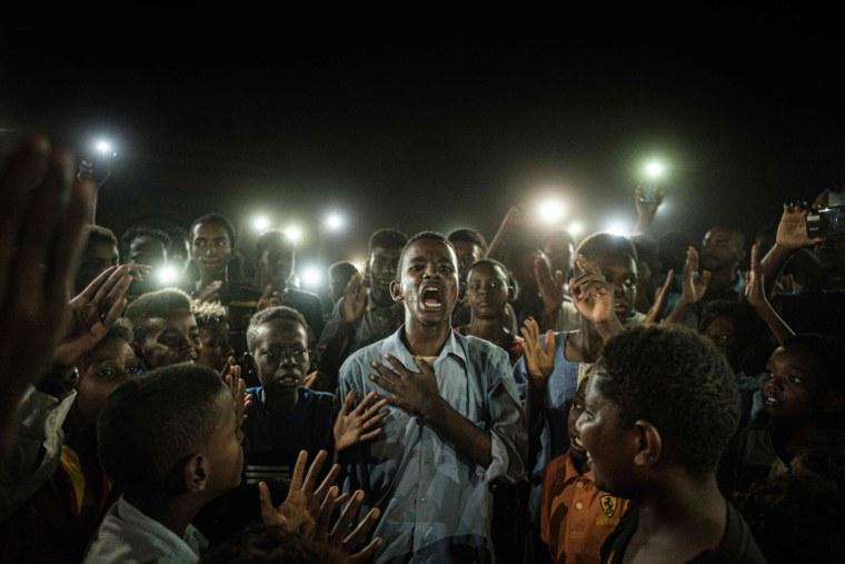 Image: TOPSHOT-SUDAN-UNREST-DEMO