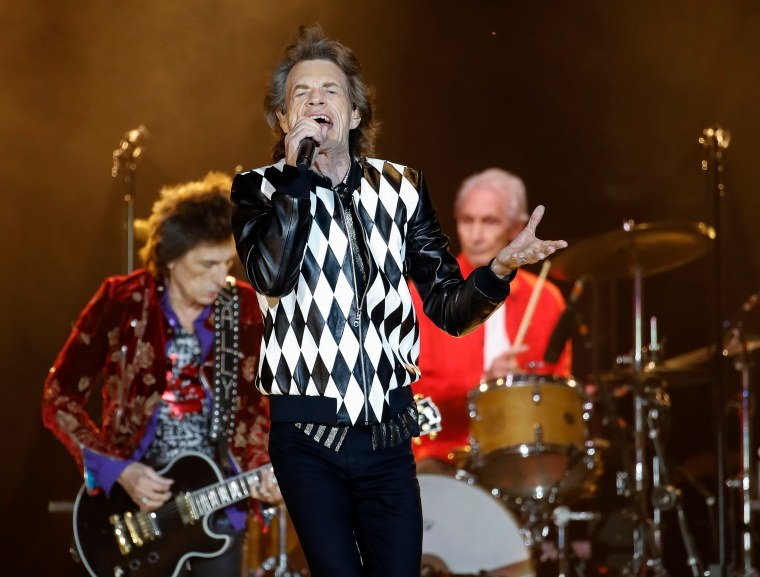 Mick Jagger back in action with Rolling Stones after medical