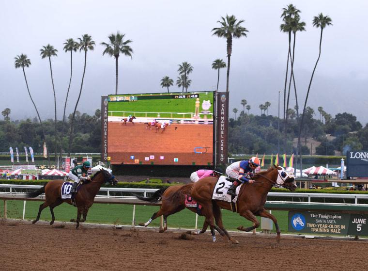 Trainer banned at Santa Anita Park after 30th horse dies